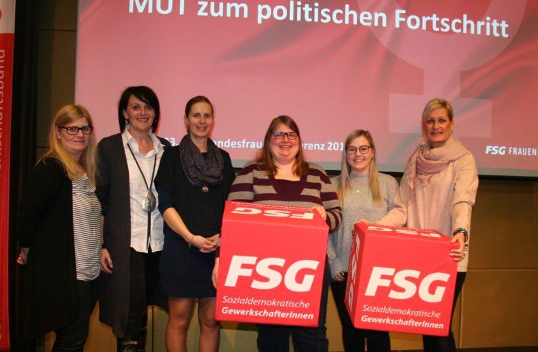 FSG-Frauen: Mut zum politischen Fortschritt