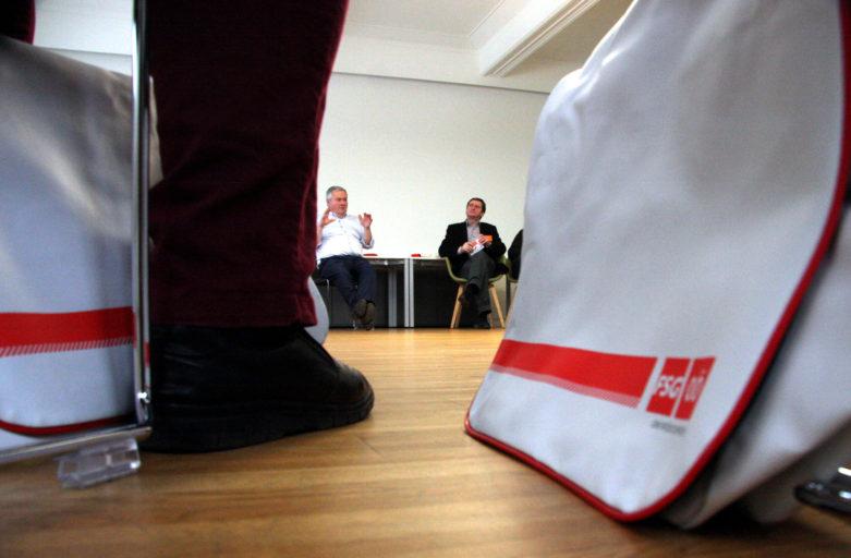 """150 FSG-KandidatInnen bereiteten sich bei Tagung auf ein """"heißes Match"""" vor"""